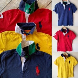 Bundle of 3 Ralph Lauren Big Pony Polo T-shirts